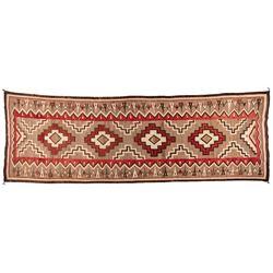 "Navajo Weaving, 12'1"" x 4'5"""