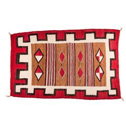 "Navajo Weaving, 4'6"" x 2'10"""