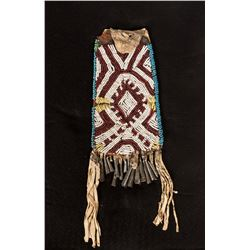 "Ute Strike-A-Lite Beaded Bag, 10"" long"