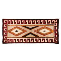 "Navajo Weaving, 9'3"" x 4'"