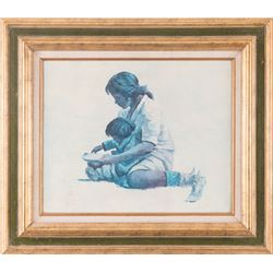 Eustace Ziegler, oil on canvasboard