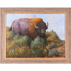 Otto Lawson, acrylic on canvas