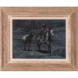John Phelps, oil on canvas