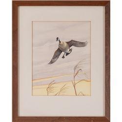 Owen J. Gromme, watercolor