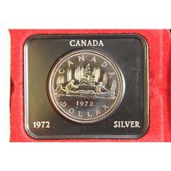 1972 CANADA SILVER DOLLAR PROOF