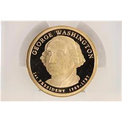 2007-S WASHINGTON DOLLAR ICG PR70 DCAM