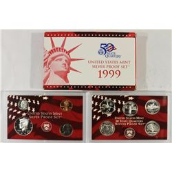 1999 US SILVER PROOF SET (WITH BOX)