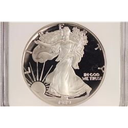 1989-S AMERICAN SILVER EAGLE NGC PF69 ULTRA CAMEO