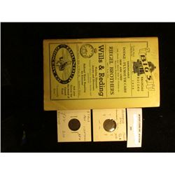 "1938 ""Big 5 Railroad Record Roster"" Book, Spokane, Portland, & Seattle & Navigation Co.; 1900 Italy"