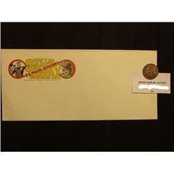 "Advertising Envelope ""Sells 3 Ring Circus & Gray…Winter Park, Florida""; & 1933M Philippines Island O"