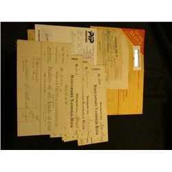 """1880 era Invoice """"Bought of Atkins & Carrington, Wholesale and Retail Dealers in all kinds of Coal"""","""