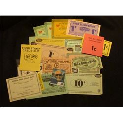 """Ten Hundred Dollars…A Phoneybill…Note"" depicting J.F. Kennedy; $5,000, $10,000, $50,000, $100,000,"