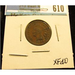 1892 Indian Head Cent XF-40