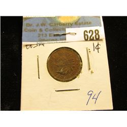 1904 Indian Head Cent XF-40