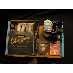 """Original box containing (4) packs """"Charpure In-a-Bag The Old Kentucky Way"""" used for distilling Whisk"""