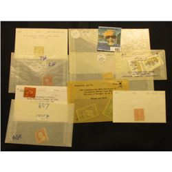 1851-57 cancelled George Washington 3c Stamp; Tonga Stamps; Portugal Stamps; 1923 Monroe 15c, cancel