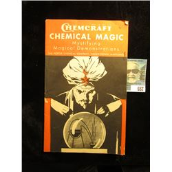 """1952 """"Chemcraft Chemical Magic Mystifying Magical Demonstrations The Porter Chemical Company, Hagers"""