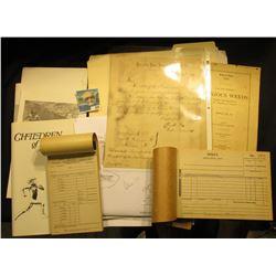 """Receipt Book """"Bob Van De Velde Distributor of Zollers -- Fox De Luxe -- Pointer Beers Phone E.M. 202"""