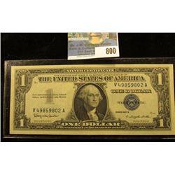 Series 1957 B One Dollar Silver Certificate, CU.