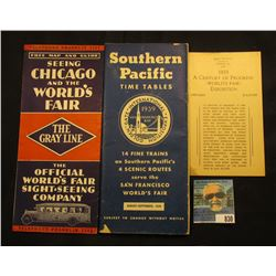 """""""Price 10 Cents Booklet on the 1933 A Century of Progress (World's Fair) Exposition Chicago Illinois"""