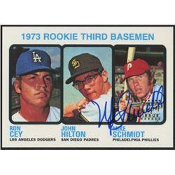 Mike Schmidt 1998 Topps Stars Rookie Reprints Autographs 4