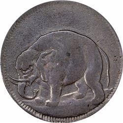 (c.1694) London Elephant Token. GOD PRESERVE LONDON, thick planchet. XF45 PCGS.