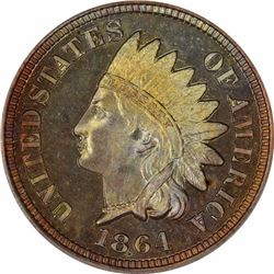 1864 Copper-Nickel. Proof-65 CAM PCGS.