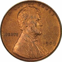 1909 Lincoln. Proof-65 RB NGC.