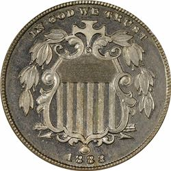 1883 Shield. Proof-65 NGC.