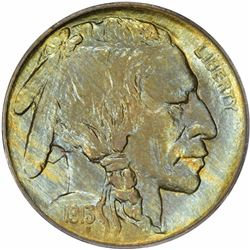 1913 Buffalo. Type I. Proof-65 PCGS.