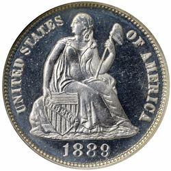 1889 Fortin-102. Proof-66 NGC.
