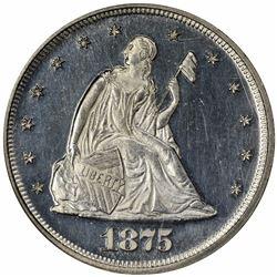 1875 Proof-63 Cameo NGC.