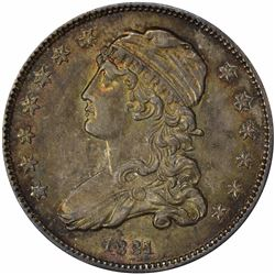 1831 Browning-1. Small Letters. Rarity-3. MS-63 NGC.
