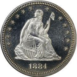 1884 Proof-66 Cameo NGC.