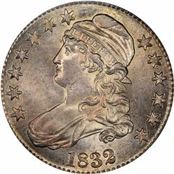 1832 O-122. Small Letters. Rarity-1. MS-63 PCGS.