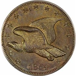 1854 Large Flying Eagle cent. J-164. P-189. S-PT3. Rarity 5. PR64BN PCGS (PS) OGH.  Choice Proof (13