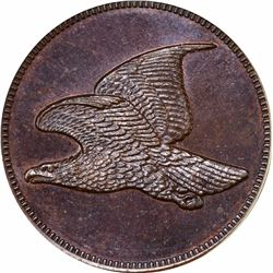 (1856) Flying Eagle cent, No Date, No Legend. J-179. P-207. S-1858-PT1b. R7. PR66BN PCGS. Gem Proof