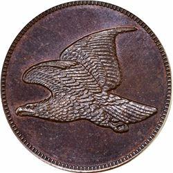(1856) Flying Eagle cent, No Date, No Legend. J-179. P-207. S-1858-PT1b. R7. PR66BN PCGS. Gem Proof