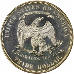 1875 Type I/II. Proof-62 PCGS.