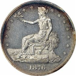 1876 Type I/II. Proof-61 ANACS.