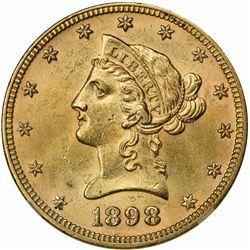 1898 MS-63 NGC.