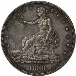 1880 Trade Dollar. Proof-62 PCGS.
