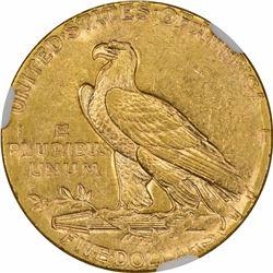 1910 Mint Error. Die Adjustment Strike. NGC.