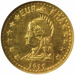 California Minerva Series ½ Round 1915. MS68 NGC.