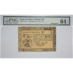 SC-135. December 23, 1776. $1 Colonial Note. PMG Choice Uncirculated 64 EPQ. Remainder.
