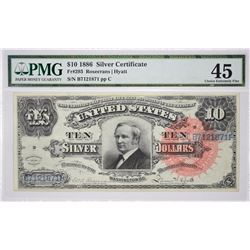 Fr. 293. 1886 $10 Silver Certificate. PMG Choice Extremely Fine 45.