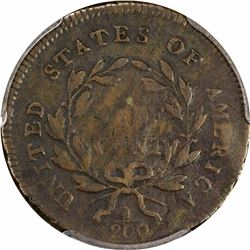 1795 B-2a, C-2a. Lettered Edge. Punctuated Date. Rarity-3. Genuine – Environmental Damage – VG Detai