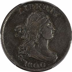 1800 B-1b, C-1. Rarity-2. Genuine – Damage – EF Details PCGS.