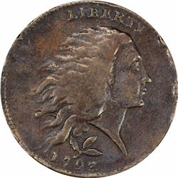 1793 Wreath Cent. S-6. Vine and Bars Edge. Rarity-3. Genuine – Tooled – Fine Details PCGS.