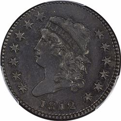 1812 S-291. Small Date. Rarity-2. Genuine – Environmental Damage – AU Details PCGS.